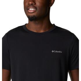 Columbia Maxtrail SS Logo Tee Men black camo fill